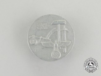 A 1936 National Day of Labour Badge by Richard Fuhrmann
