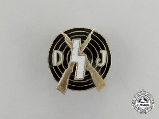 Germany. A Deutsche Jugend (DJ) Shooting Achievement Badge by Eugen Schmidhäussler