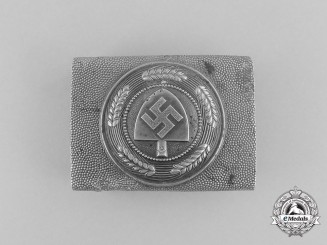 A Third Reich Period RAD Enlisted Man's Belt Buckle