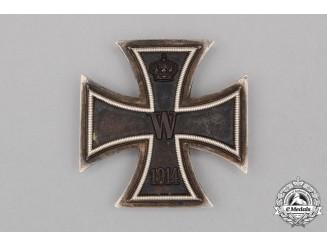 An Iron Cross 1914 First Class; Silver to Lieutenant Puttlitz of Infantry Regiment 129
