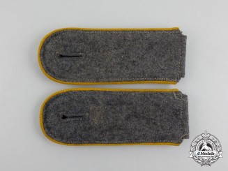 A Pair of Luftwaffe Flight Enlisted Man's Shoulder Boards