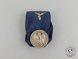 A Parade Mounted Luftwaffe IV Class Long Service Award for 4 Years' Service