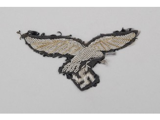 A Luftwaffe Officer's Overseas Cap Eagle