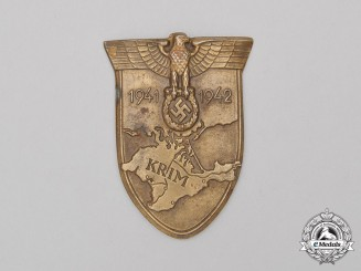 A Second War German Krim Campaign Shield