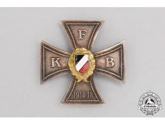 A FKB (Front Fighter's League) Honour Cross