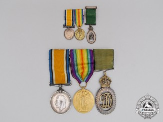 Canada, CEF. A Medal Group to Lieutenant MacDonald; 7th Canadian Mounted Rifle Battalion