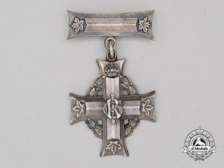 A First War Memorial Cross to Private Eva; Canadian Army Dental Corps