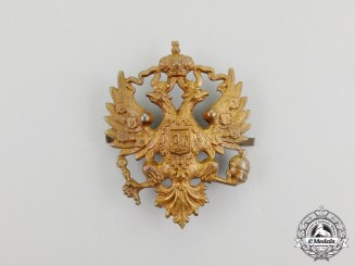 An Imperial Russian Cap Badge