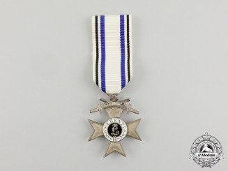 A Bavarian Military Merit Cross 2nd Class with Swords