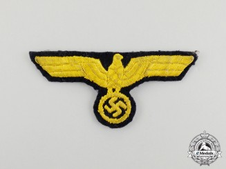 A Second War German Kriegsmarine Officer's Breast Eagle
