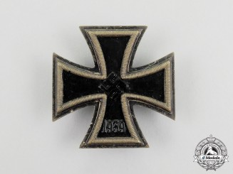 An Early Iron Cross 1939 First Class by Fritz Zimmermann of Stuttgart