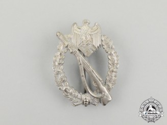 A Mint Second War German Silver Grade Infantry Assault Badge