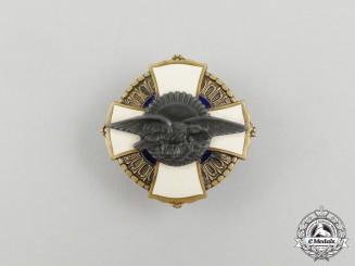 Hungary, Kingdom. An Air Force Badge, c.1930