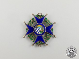 A Cuban Order of Military Merit, 3rd Class Officer for Good Conduct