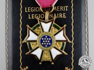 A Second War American Legion of Merit; Legionnaire Grade to William R. Roberts