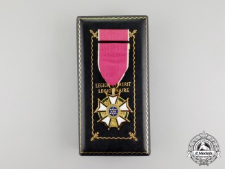 A Second War American Legion of Merit; Legionnaire Grade to William R. Roberts