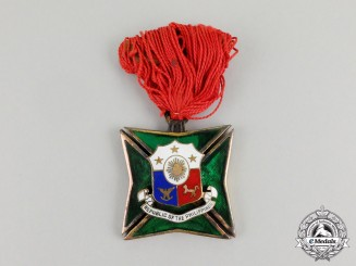 Philippines, Republic. An Armed Forces Long Service Award for Twenty Years' Service, c.1950