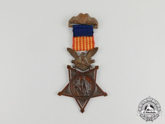 An American Civil War Army Congressional Medal of Honor, Type 1 (1862-1896)