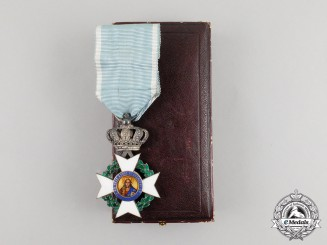 A Greek Order of the Redeemer, Knight, 5th Class, Cased