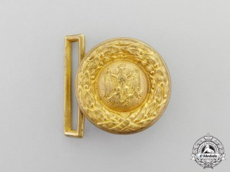 A German Institution Administrative Official Belt Buckle