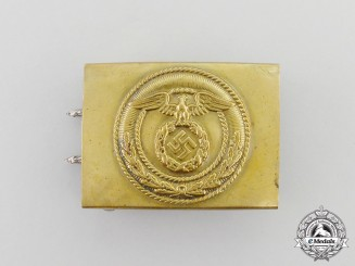 A Standard SA Enlisted Man's Belt Buckle