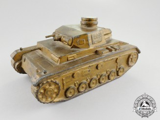 "A Second War Panzer Light Medium Tank Pz. Kw. 3 Type ""C"" Identification Model"