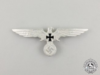 A German Veteran's Association Breast Eagle Insignia by Deschler