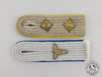 Two Second War German Shoulder Boards
