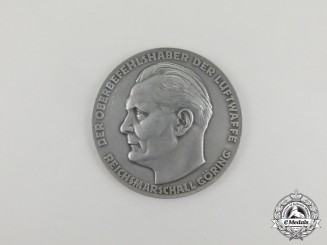 "A German ""For Exemplary Technical Services in the Luftwaffe"" Table Medal"