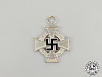 A Third Reich Period 25-Year Faithful Service Cross Second Class