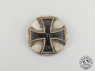 A Unique Iron Cross 1914 First Class; Silver Backplate Version