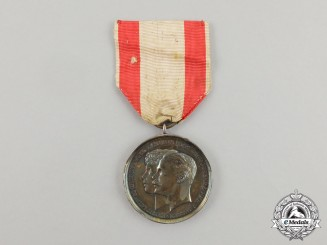An 1894 Hessen Wedding Medal