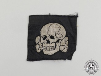 An Unissued Waffen-SS EM/NCO's Cap Skull