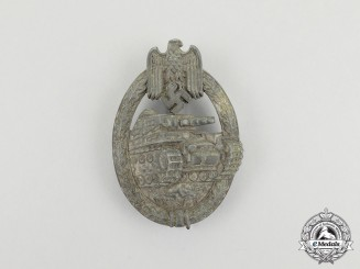 Germany, Heer. A Silver Grade Tank Badge