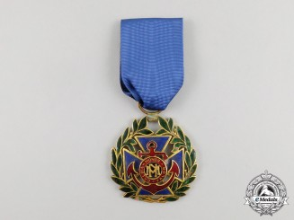 A Cuban Order of Naval Merit, 3rd Class Officer for Lieutenants and Ensigns, Naval Merit Version