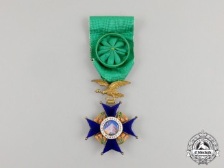 A Bolivian National Order of the Condor of the Andes, Officer