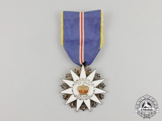 A Malaysian Order of the Defender of the Realm; Knight