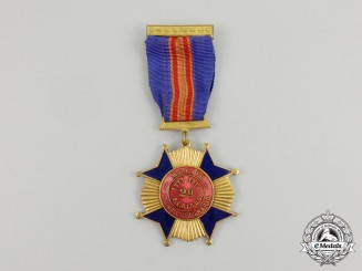 Mexico. A Revolutionary Cross of Merit, Combatant Version, c.1914