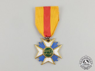 A Moroccan Cross of the Order of Hafiz