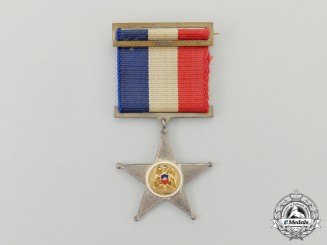 A Chilean Lone Service Star for Ten Years' Service