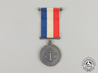 A Chilean Navy Long Service Medal for Twenty-Five Years' Service