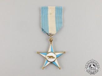 A Somalian Order of the Somali Star; Knight