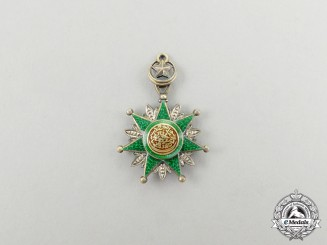 A Fine Miniature Turkish Order of Osmania (Osmanli)