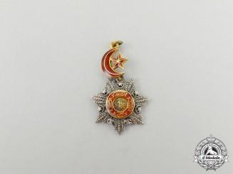 A Miniature Turkish Order of Medjidie (Mecidiye)