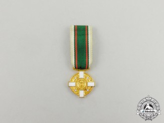 A Rare Miniature Chilean Real Order of the Constellation of the South Medal