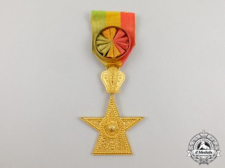 An Ethiopian Order of the Star of Ethiopia, 3rd Class, Officer