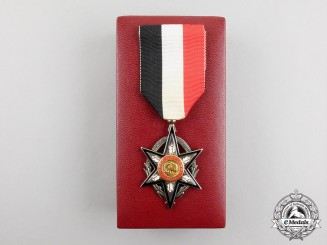 A Burkina Faso Order of National Merit, Knight, Cased
