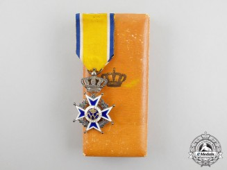 A Dutch Order of Orange-Nassau, Knight, Civil Division, Cased