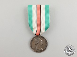 An Austrian Tirol Commemorative Medal for NCOs and Enlisted Medal