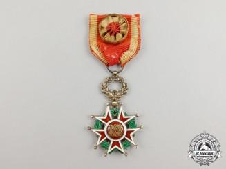 An Order of the Brilliant Star of Zanzibar, Officer by Godet